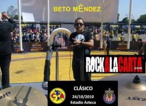 RockalaCarta en el Estadio Azteca oct 2010
