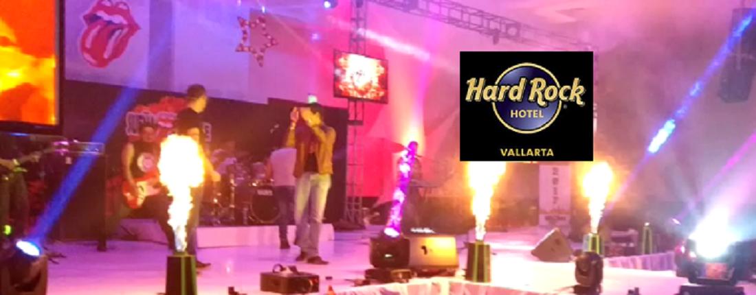 En los mejores eventos: Hard Rock Puerto Vallarta