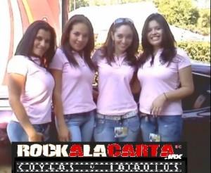 Las Bellas del Rock en Morelos..