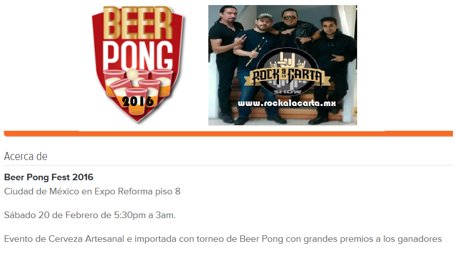 beer pong mexico