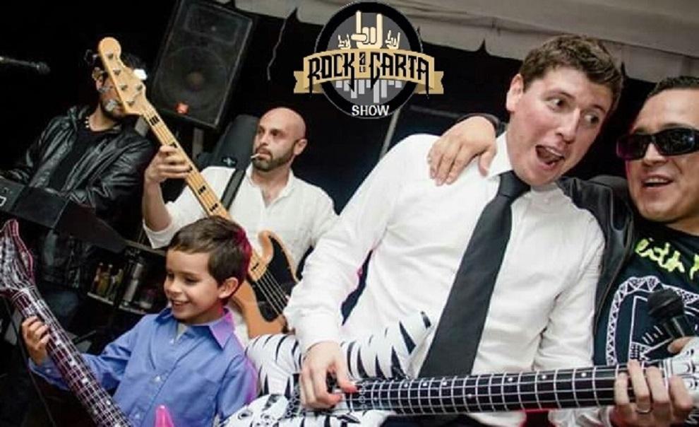 El mejor grupo para tu boda rockera, pero tocamos de todo!