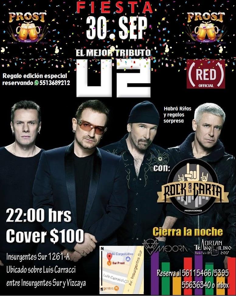 Fiesta y Tributo U2 30sep
